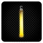 Glowsticks - Foil Wrapped - Color YELLOW