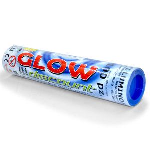 BRACCIALETTI LUMINOSI - colore BLU - tubo da 100 pezzi