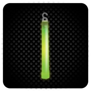 Glowsticks - Foil Wrapped - Color GREEN