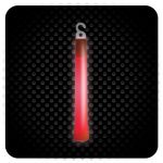 Glowsticks - Foil Wrapped - Color RED
