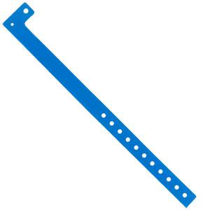 Braccialetto monouso - FLUO BLUE