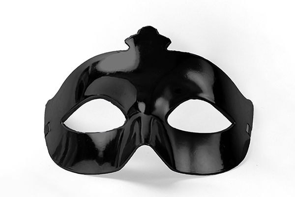 Party Mask - black