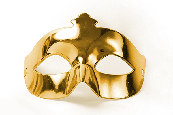Party Mask - gold