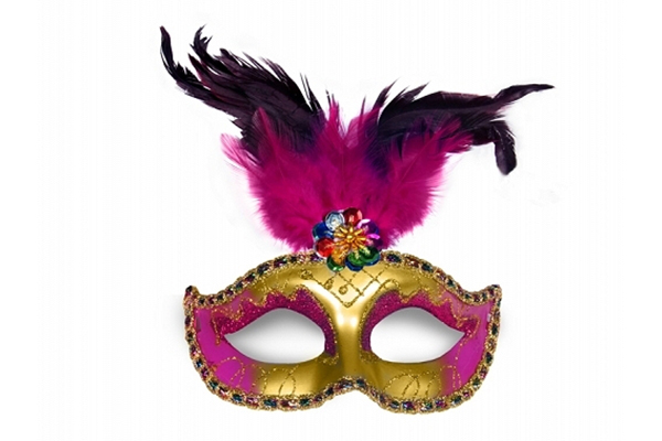 "Party Mask - ""matilde gold"""