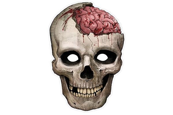"""PAPER MASK """"skull"""""""