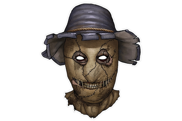 """PAPER MASK """"scarecrow"""""""