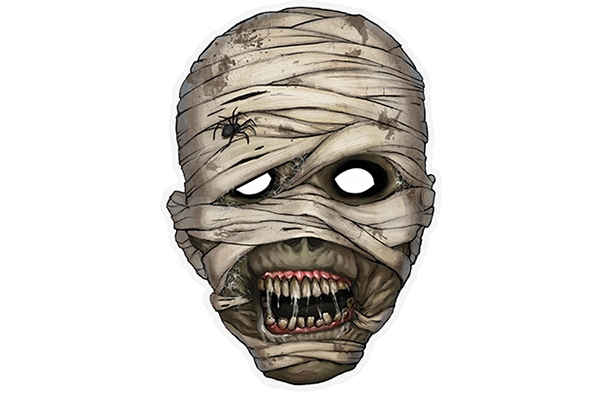"PAPER MASK ""mummy"""