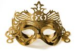 "Party Mask - gold ""ornament"""