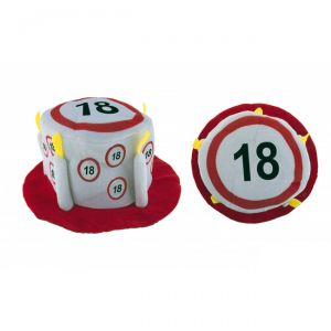 CAPPELLO TORTA 18 ANNI - TRAFFIC SIGN