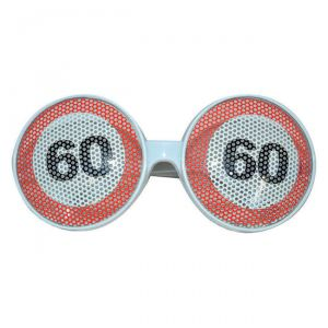 OCCHIALI  60 ANNI - TRAFFIC SIGN