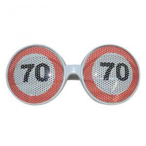 OCCHIALI  70 ANNI - TRAFFIC SIGN