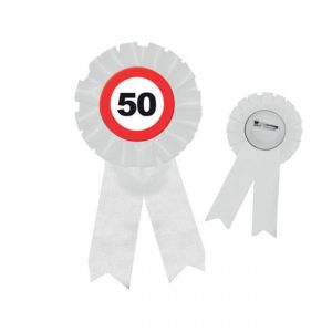 COCCARDA 50 ANNI - TRAFFIC SIGN