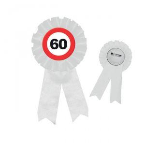 COCCARDA 60 ANNI - TRAFFIC SIGN