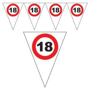 FESTONE BANDIERINE 18 ANNI - TRAFFIC SIGN