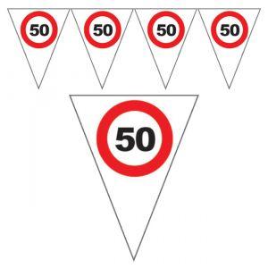 FESTONE BANDIERINE 50 ANNI - TRAFFIC SIGN