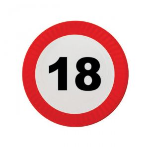 PIATTINI 18 ANNI - TRAFFIC SIGN