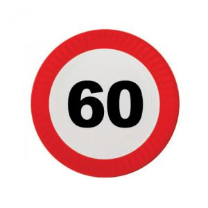 PIATTINI 60 ANNI - TRAFFIC SIGN