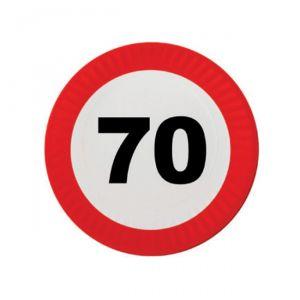PIATTINI 70 ANNI - TRAFFIC SIGN