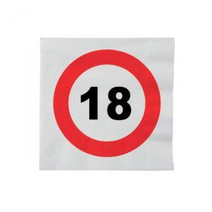 TOVAGLIOLI 18 ANNI - TRAFFIC SIGN