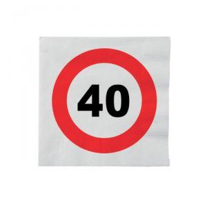 TOVAGLIOLI 40 ANNI - TRAFFIC SIGN