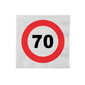 TOVAGLIOLI 70 ANNI - TRAFFIC SIGN