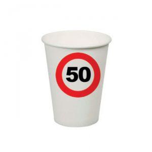 BICCHIERI 50 ANNI - TRAFFIC SIGN