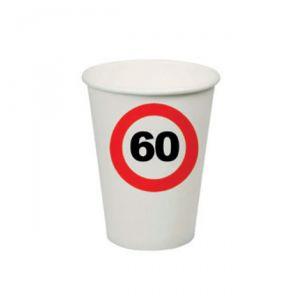 BICCHIERI 60 ANNI - TRAFFIC SIGN