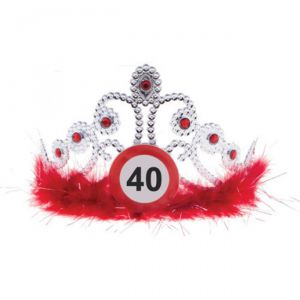TIARA 40 ANNI - TRAFFIC SIGN