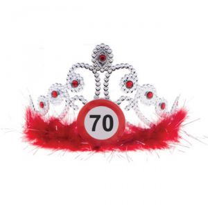 TIARA 70 ANNI - TRAFFIC SIGN