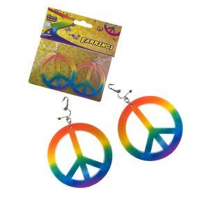 ORECCHINI PEACE CON CLIP