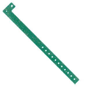 Braccialetto monouso - GREEN GLITTER