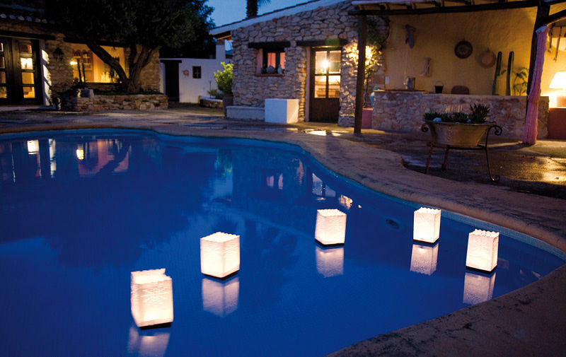 lanterne galleggianti candle bags sacchetti portacandela