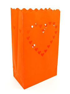 "CANDLE BAGS ""HEART"" - box 8 pz"