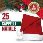 25 CAPPELLI DI NATALE