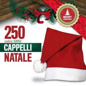 250 CAPPELLI DI NATALE