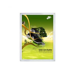 CORNICE A SCATTO - B2 - 50X70 - ANGOLO VIVO - PROFILO 19mm