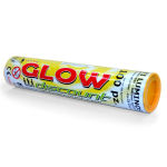 BRACCIALETTI LUMINOSI - colore GIALLO - tubo da 100 pezzi
