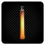 Glowsticks - Foil Wrapped - Color ORANGE