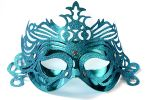 """Party Mask - turquoise """"ornament"""""""