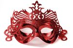"""Party Mask - red """"ornament"""""""