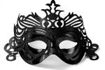 "Party Mask - black ""ornament"""